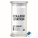 College Station City Jewelry Candle