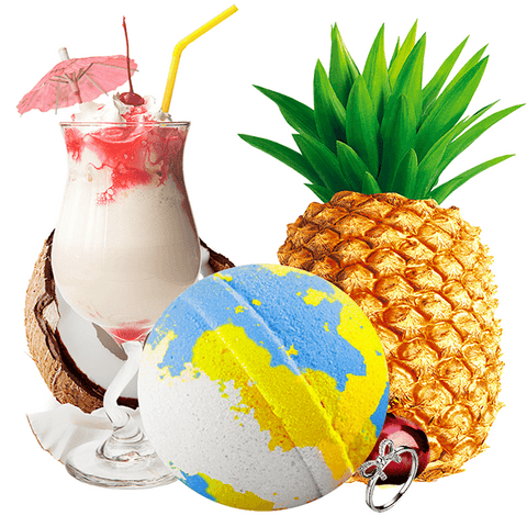 If You Like Piña Coladas! Jewelry Bath Bomb
