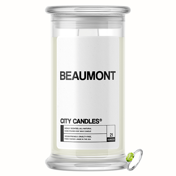 Beaumont City Jewelry Candle