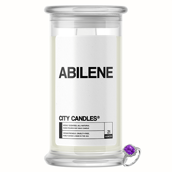 Abilene City Jewelry Candle