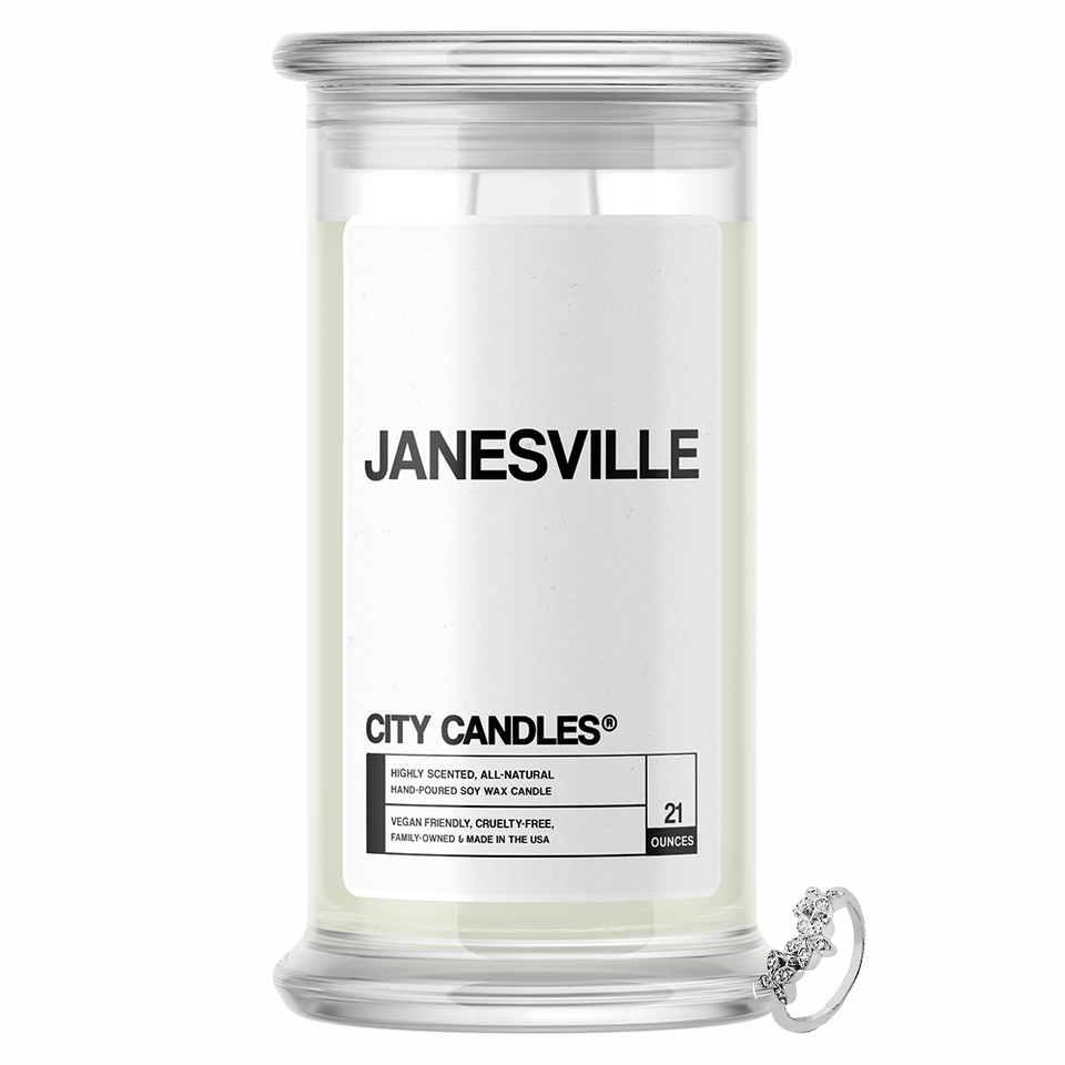 Janesville City Jewelry Candle