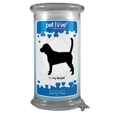 I love my Beagle! | Pet Love Candle®-Pet Love®-The Official Website of Jewelry Candles - Find Jewelry In Candles!