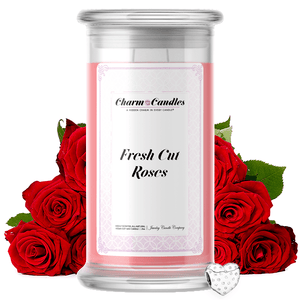 Fresh Cut Roses | Charm Candle®-Charm Candles®-The Official Website of Jewelry Candles - Find Jewelry In Candles!