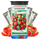 Strawberry Fields Cash Bath Bombs Twin Pack