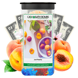 Just Peachy Cash Bath Bombs Twin Pack