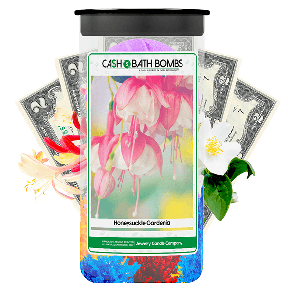 Honeysuckle Gardenia Cash Bath Bombs Twin Pack
