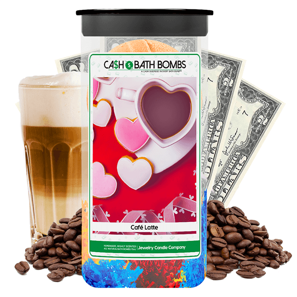 Café Latte Cash Bath Bombs Twin Pack