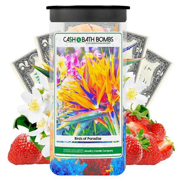 Birds of Paradise Cash Bath Bombs Twin Pack