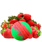 Strawberry Fields | Single Bath Bomb®-Single Bath Bomb-The Official Website of Jewelry Candles - Find Jewelry In Candles!