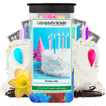 Birthday Cake Cash Bath Bombs Twin Pack