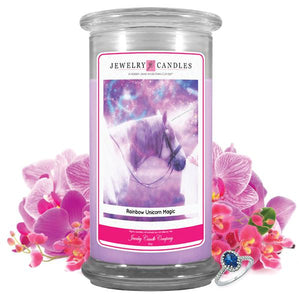 Rainbow Unicorn Magic | Jewelry Candle®-Jewelry Candles®-The Official Website of Jewelry Candles - Find Jewelry In Candles!