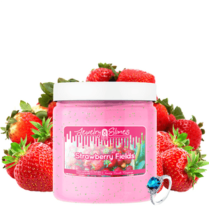 Strawberry Fields | Jewelry Slime®-Jewelry Slime | A Jewelry Surprise In Every Jar of Slime-The Official Website of Jewelry Candles - Find Jewelry In Candles!