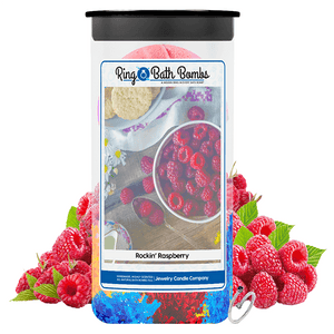 Rockin' Raspberry Ring Bath Bombs Twin Pack
