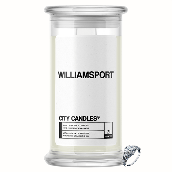 Williamsport City Jewelry Candle