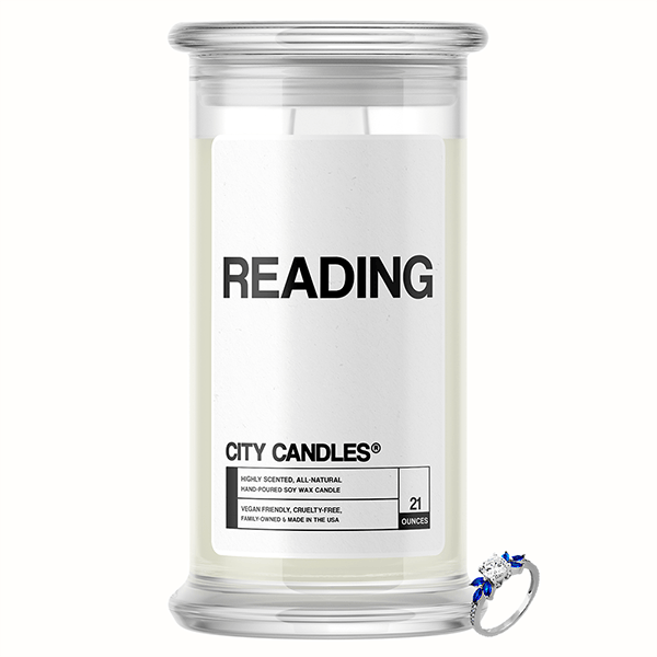 Reading City Jewelry Candle