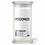 Poconos City Jewelry Candle
