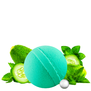 Cucumber Mint | Single Pearl Party Bath Bomb®-Pearl Party Bath Bomb-The Official Website of Jewelry Candles - Find Jewelry In Candles!