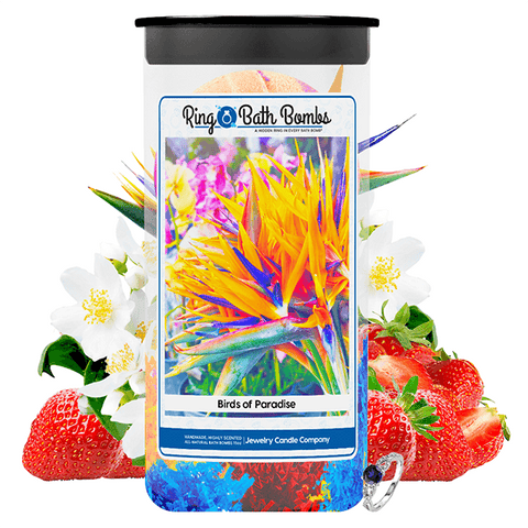 Birds of Paradise Ring Bath Bombs Twin Pack