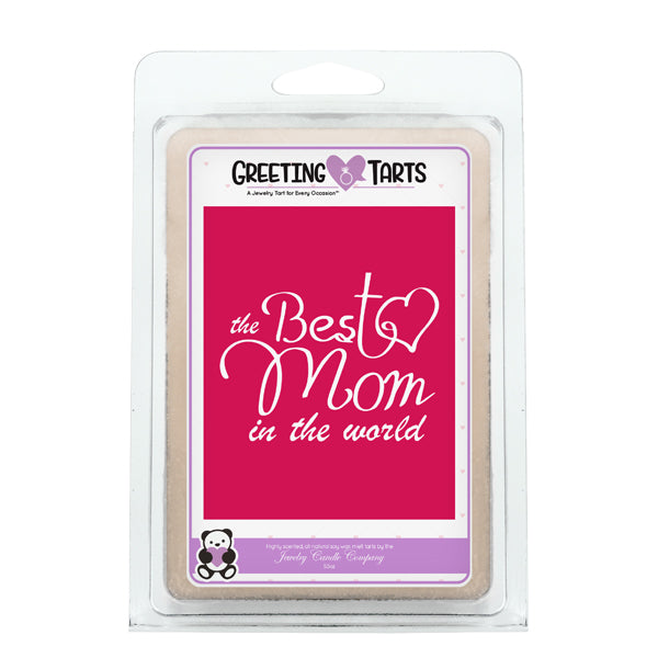 The Best Mom In The World | Greeting Tart-Greeting Tarts-The Official Website of Jewelry Candles - Find Jewelry In Candles!