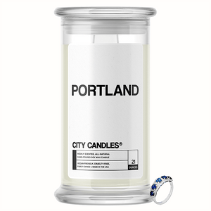 Portland City Jewelry Candle