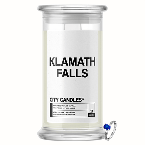 Klamath Falls City Jewelry Candle