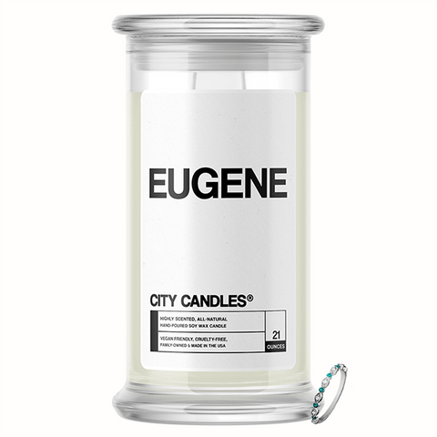 Eugene City Jewelry Candle