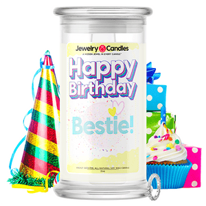 Happy Birthday Bestie! Happy Birthday Jewelry Candle