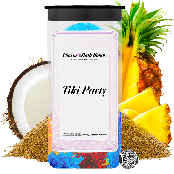Tiki Party Charm Bath Bombs Twin Pack