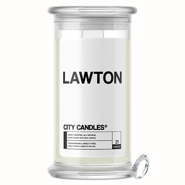 Lawton City Jewelry Candle