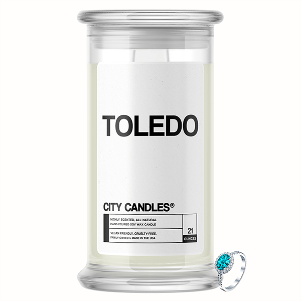 Toledo City Jewelry Candle