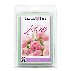 All You Need Is Love | Greeting Tart-Greeting Tarts-The Official Website of Jewelry Candles - Find Jewelry In Candles!