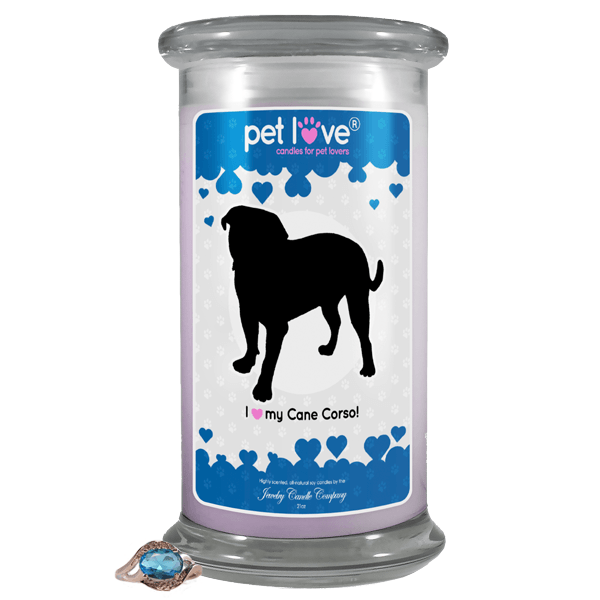 I Love My Cane Corso! | Pet Love Candle®-Pet Love®-The Official Website of Jewelry Candles - Find Jewelry In Candles!