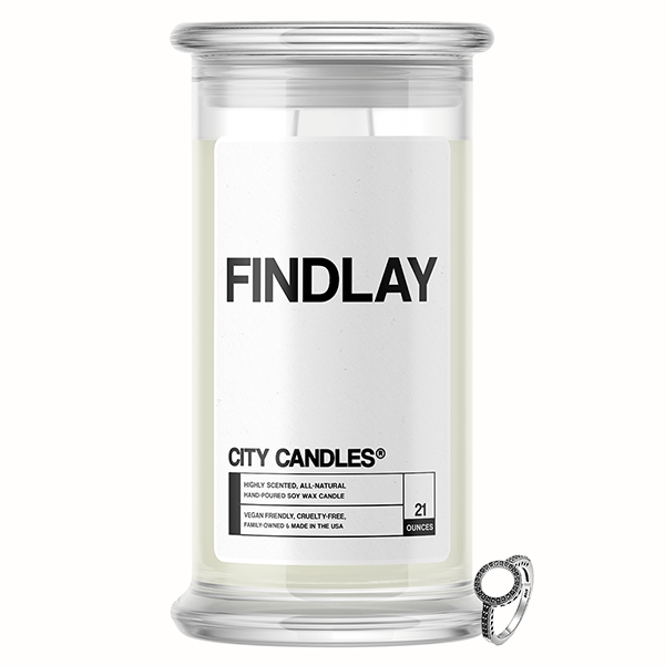 Findlay City Jewelry Candle