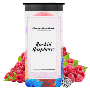 Rockin' Raspberry Charm Bath Bombs Twin Pack