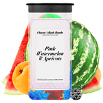 Pink Watermelon & Apricots Charm Bath Bombs Twin Pack