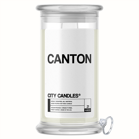 Canton City Jewelry Candle