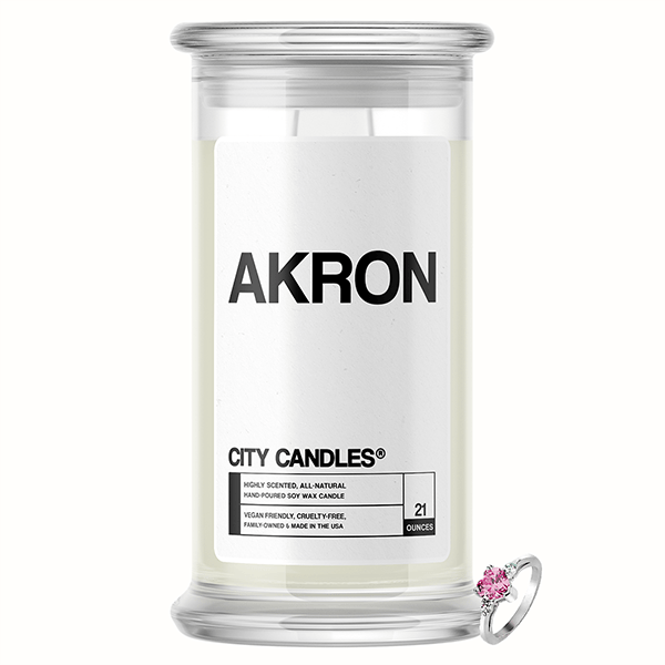 Akron City Jewelry Candle