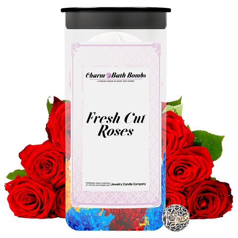 Fresh Cut Roses Charm Bath Bombs Twin Pack