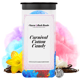 Carnival Cotton Candy Charm Bath Bombs Twin Pack