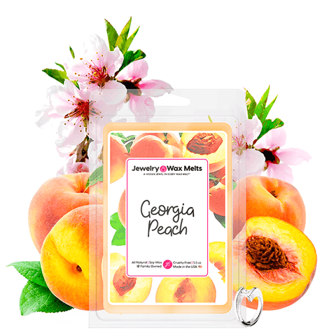 Georgia Peach Jewelry Wax Melt