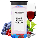 Black Cherries & Wine Charm Bath Bombs Twin Pack