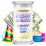 Happy Birthday to the Best Son Ever! Happy Birthday Cash Money Candle