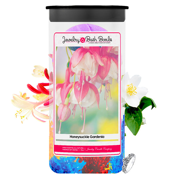 Honeysuckle Gardenia Jewelry Bath Bombs Twin Pack