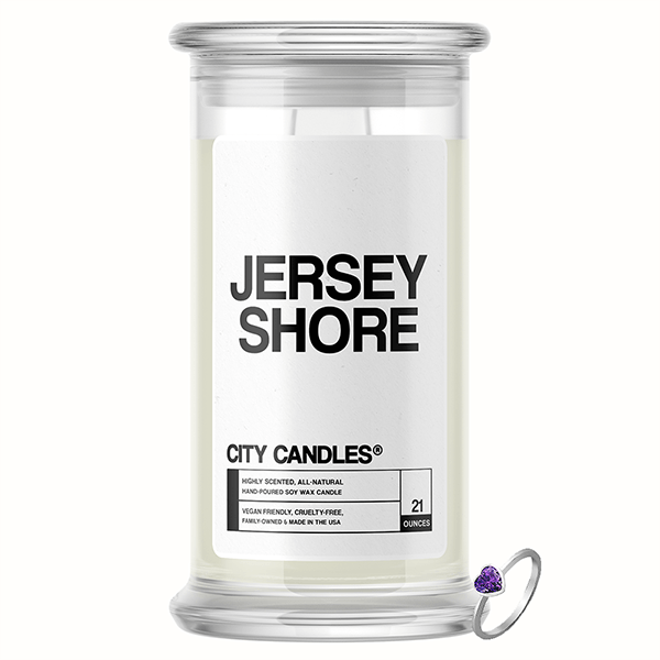 Jersey Shore City Jewelry Candle