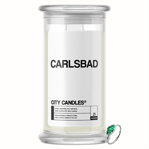 Carlsbad City Jewelry Candle