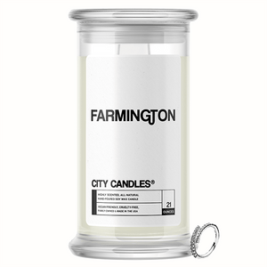 Farmington City Jewelry Candle
