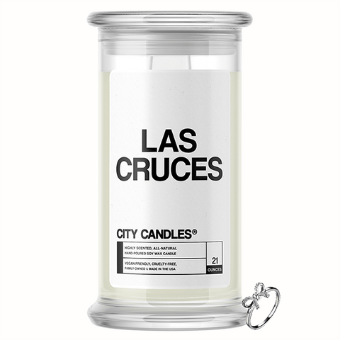 Las Cruces City Jewelry Candle