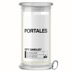 Portales City Jewelry Candle