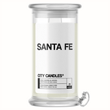 Santa Fe City Jewelry Candle