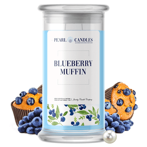 Blueberry Muffin | Pearl Candle®-Pearl Candles®-The Official Website of Jewelry Candles - Find Jewelry In Candles!